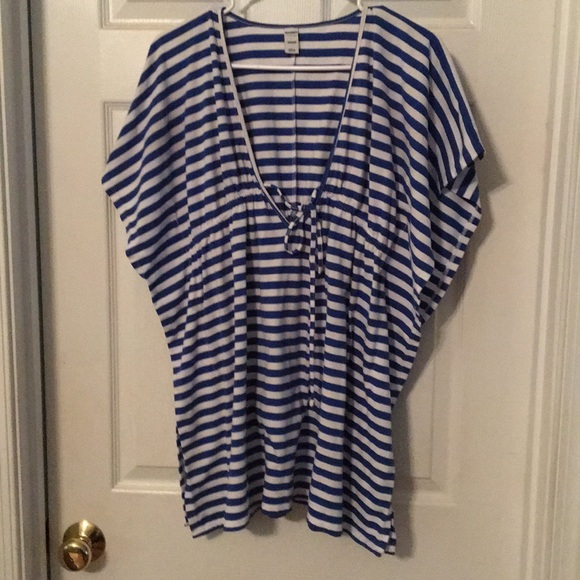 Old Navy Other - 3/$15 Old Navy Striped Bathing Suit Cover Up Top